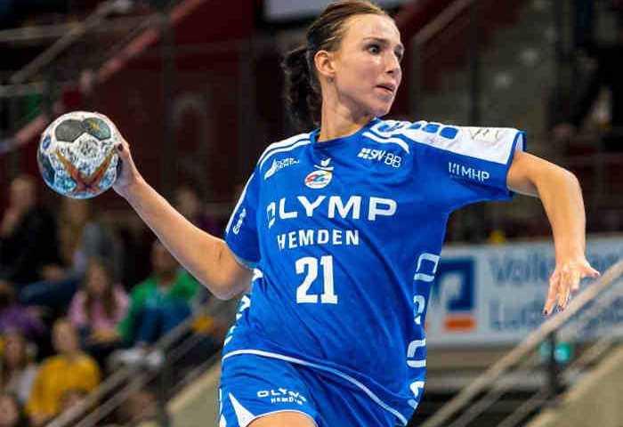 Fie Woller - SG BBM Bietigheim - Handball Bundesliga - EHF Champions League - Foto: Wolf Sportfoto
