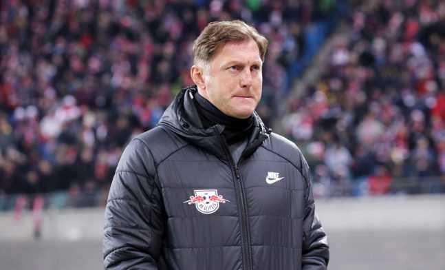Fußball UEFA Europa League, RasenBallsport Leipzig vs. SSC Neapel - Ralph Hasenhüttl (RB Leipzig) - Foto: GEPA pictures/Sven Sonntag