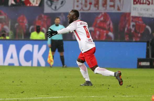 Fußball Bundesliga, RasenBallsport Leipzig vs. FC Augsburg - Naby Keita (RB Leipzig) - Foto: GEPA pictures/Sven Sonntag