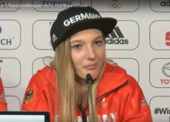 Olympia PyeongChang 2018 - Katharina Althaus - Silber im Skispringen - Quelle / Copyright: DOSB / SID Marketing