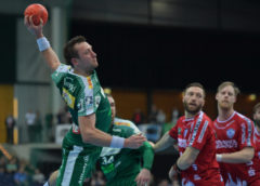 Andreas Rojewski - SC DHfK Leipzig vs. TBV Lemgo - Handball Bundesliga - Foto: Rainer Justen