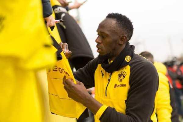 Usain Bolt trainierte mit Borussia Dortmund – Foto: PUMA