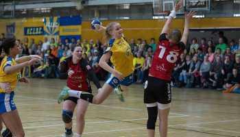 HC Leipzig gegen TuS Kriftel, Handball dritte Liga - Foto: Robby Kunze