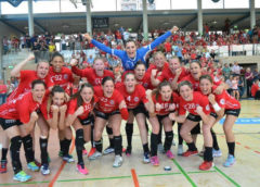 Thüringer HC - Handball Bundesliga - THC vs. Buxtehuder SV am 21. April 2018 - Foto: Hans-Joachim Steinbach