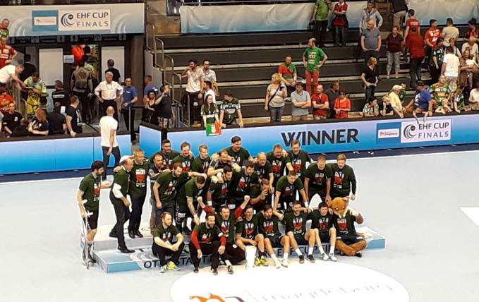 Füchse Berlin EHF Cup Winner - Foto: SPORT4FINAL