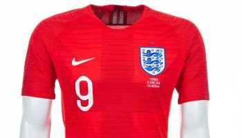 Fußball WM 2018: England Shirt – Quelle: FIFA