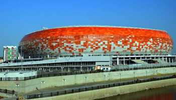 Fußball WM 2018 Russland: Saransk Mordovia Arena - Foto: FIFA