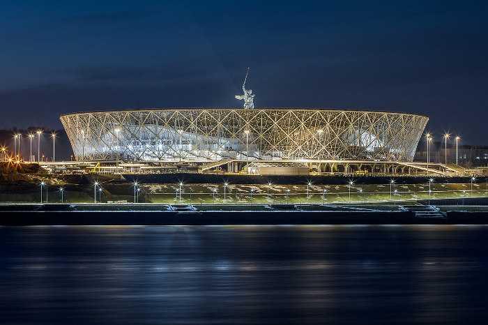 Fußball WM 2018 Russland: Wolgograd Arena - Foto: FIFA