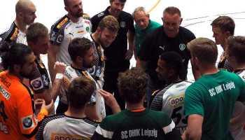 SC DHfK Leipzig vs. HC Erlangen - Foto: SC DHfK Leipzig
