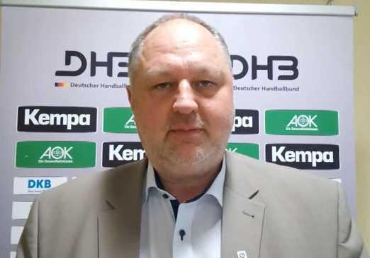 Andreas Michelmann, DHB-Präsident, anlässlich des Länderspiels der Frauen zwischen Deutschland und Russland in Dessau-Roßlau - Foto: SPORT4FINAL