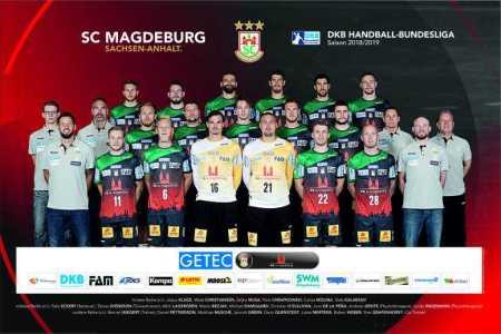 SC Magdeburg - Handball Bundesliga - Saison 2018-2019 - Foto: SC Magdeburg