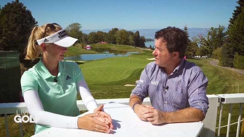 CNN Living Golf - Jessica und Nelly Korda und Shane O'Donoghue - Foto: CNN International