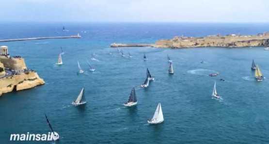 CNN Mainsail Rolex Middle Sea Race - Foto: CNN International