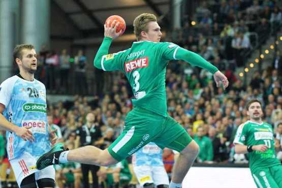 Franz Semper - SC DHfK Leipzig vs. TSV Hannover-Burgdorf - Arena Leipzig am 21.11.2018 - Foto: Rainer Justen