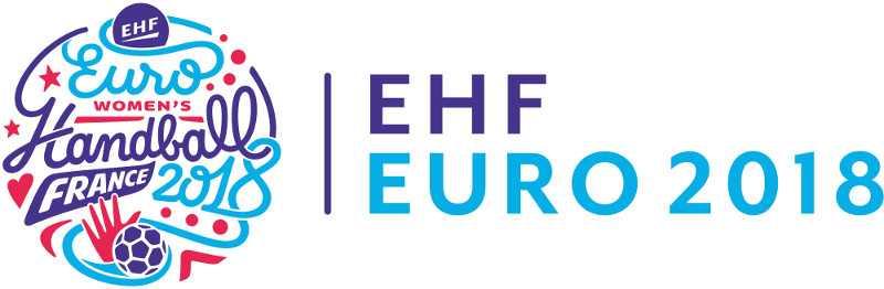 Handball EHF EURO 2018 Logo - Foto: EHF Media / France 2018