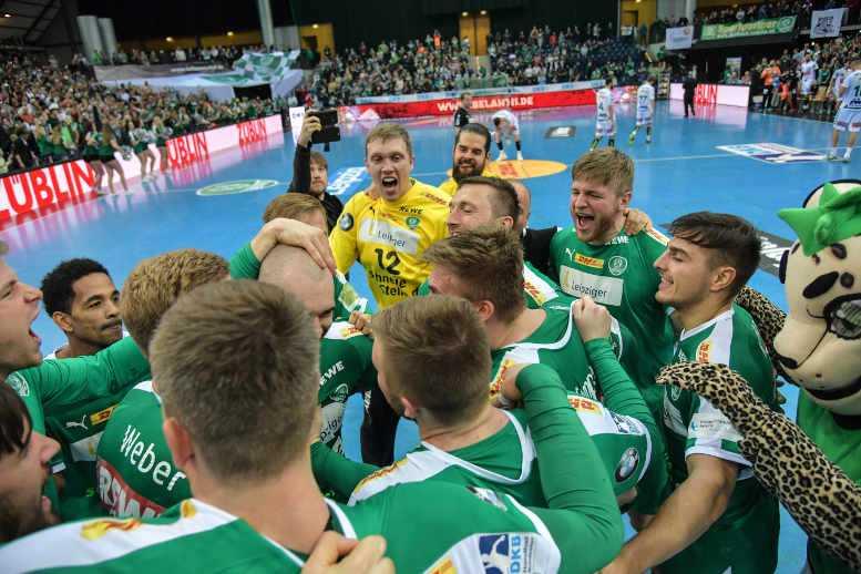 SC DHfK Leipzig vs. Frisch Auf Göppingen - Handball Bundesliga am 04.11.2018 in Arena Leipzig - Foto: Rainer Justen