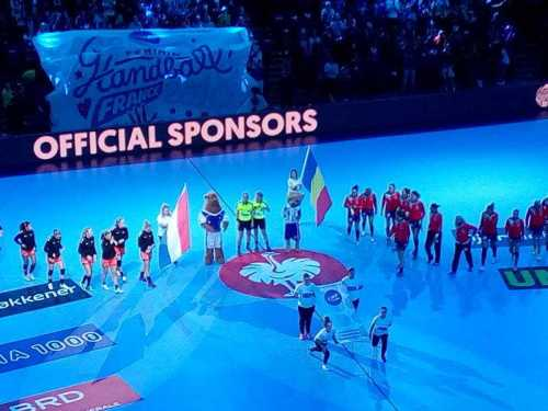 Handball EM 2018 - Niederlande vs. Rumänien - Spiel um Platz 3 - Paris - Foto: SPORT4FINAL