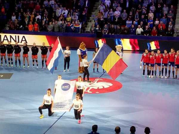 Handball EM 2018 - Rumänien vs. Niederlande - Nancy am 09.12.2018 - Foto: SPORT4FINAL