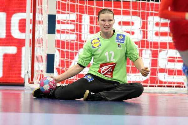 Handball EM 2018 - Amandine Leynaud - Frankreich vs. Montenegro - Copyright: FFHandball / S. Pillaud