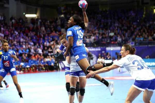 Handball EM 2018 - Grace Zaadi Deuna - Frankreich vs. Russland - Copyright: FFHandball / S. Pillaud