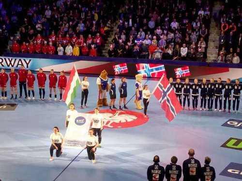 Handball EM 2018 - Norwegen vs. Ungarn - Foto: SPORT4FINAL
