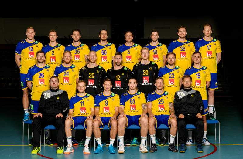 Nationalmannschaft Schweden 2021