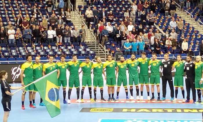 Handball WM 2019 Brasilien vs. Russland - Foto: SPORT4FINAL