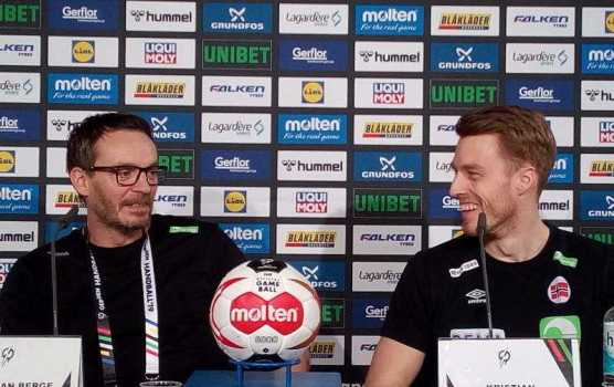 Handball WM 2019 - Christian Berge und Kristian Björnsen - Foto: SPORT4FINAL
