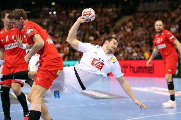 Handball WM 2019 - Kentin Mahe Frankreich Dänemark - Copyright: FFHandball / S. Pillaud