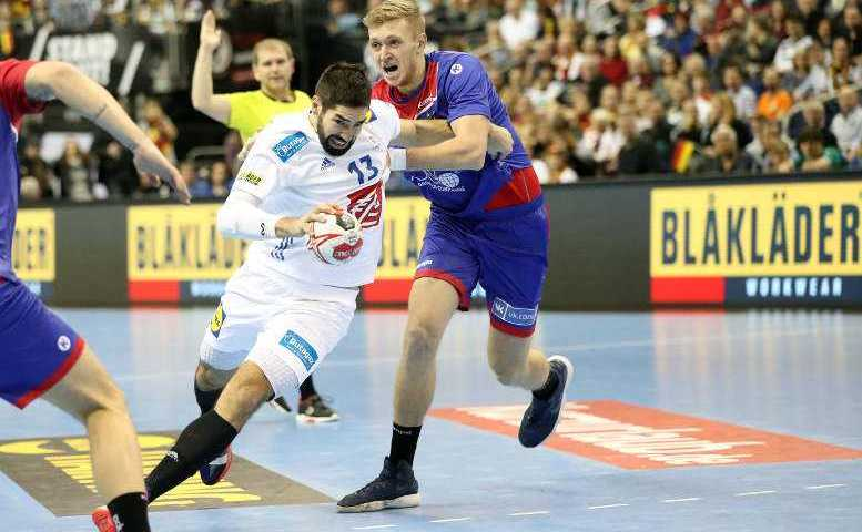 Handball WM 2019 - Nikola Karabatic - Frankreich vs. Russland - Copyright: FFHandball / S. Pillaud
