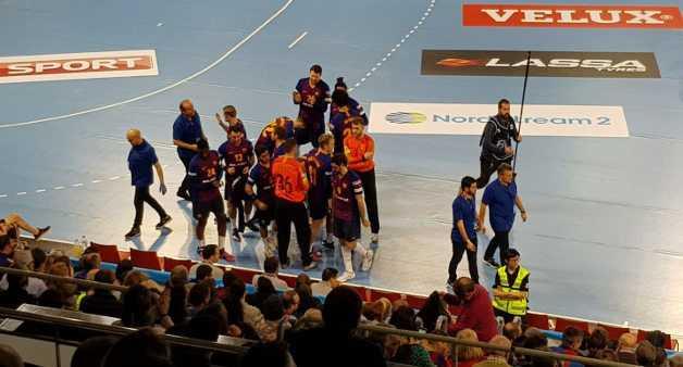 FC Barcelona vs. Rhein-Neckar Löwen am 2. März 2019 im Palau Blaugrana - Foto: Rolf Bernardi