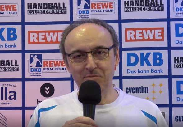 DHB Pokal REWE Final Four - SPORT4FINAL-Redakteur Frank Zepp - Foto: Peter Jansen