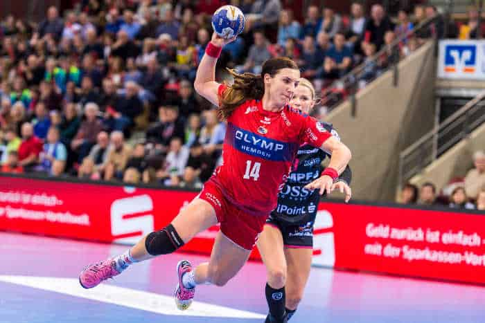 Karolina Kudlacz-Gloc - SG BBM Bietigheim vs. TuS Metzingen - Foto: Marco Wolf
