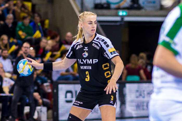 Maura Visser - SG BBM Bietigheim - Foto: Marco Wolf