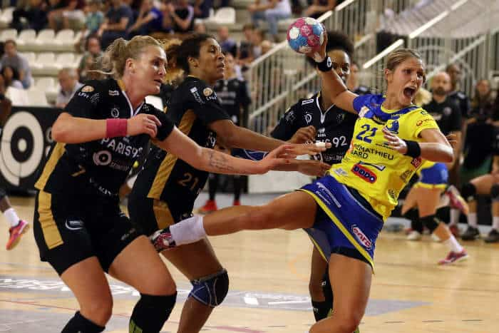 Xenia Smits (22) – Metz Handball – Foto: FFHandball / S. Pillaud