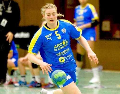 Isabell Hurst - Foto: Robby Kunze / HC Leipzig