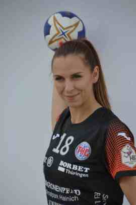 Iveta Luzumova – Thüringer HC – Handball - Foto: Hans Joachim Steinbach
