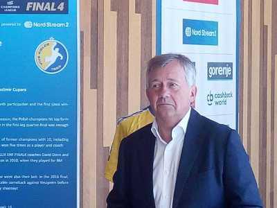 Michael Wiederer - EHF Präsident - Handball VELUX EHF FINAL4 - Foto: SPORT4FINAL