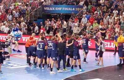 Paris Saint-Germain – Handball Champions League EHF Final4 2018 – Bronze nach Sieg über Vardar Skopje – Foto: SPORT4FINAL