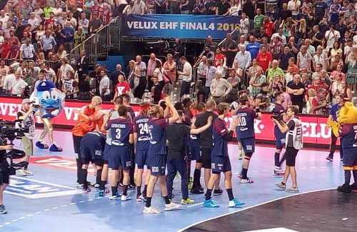 Paris Saint-Germain – Handball Champions League EHF Final4 2018 – Bronze nach Sieg über Vardar Skopje – Foto: SPORT4FINAL