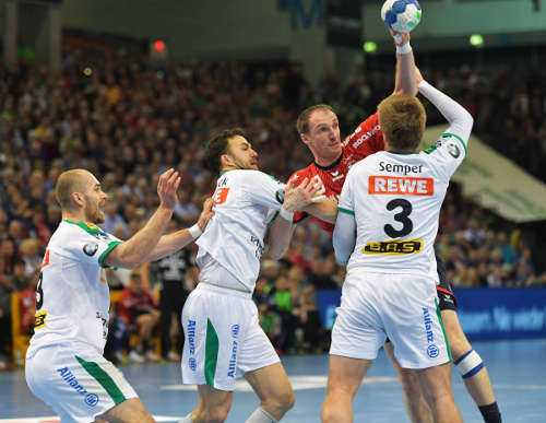 SG Flensburg-Handewitt vs. SC DHfK Leipzig - Flens Arena am 01.05.2019 - Foto: Rainer Justen