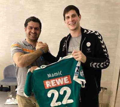 Transfers: Marko Mamic und Karsten Günther - Foto: SC DHfK Leipzig
