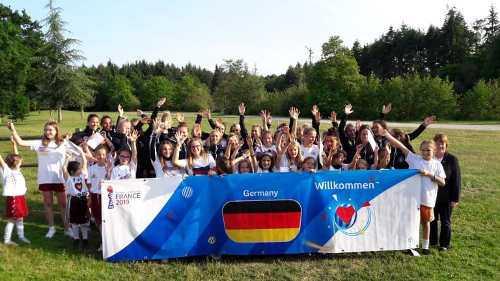 Fußball WM 2019 Team Deutschland - Copyright: LOC France 2019