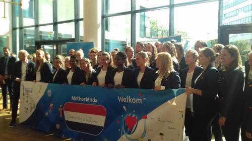 Fußball WM 2019 Team Niederlande - Copyright: LOC France 2019