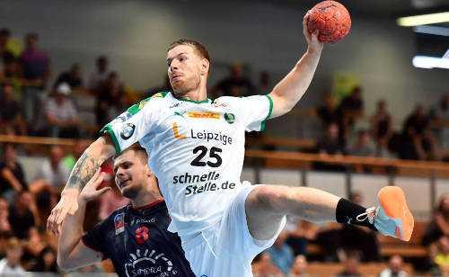 Gregor Remke - SC DHfK Leipzig - Foto: Rainer Justen