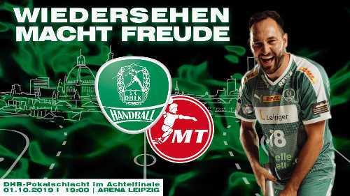 DHB Pokal - SC DHfK Leipzig vs. MT Melsungen - Foto: SC DHfK Leipzig