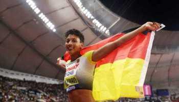 Leichtathletik WM 2019 - Malaika Mihambo - Foto: © Getty Images for IAAF
