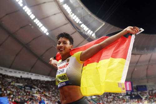 Leichtathletik WM 2019 - Malaika Mihambo - Foto: © Getty Images for IAAF