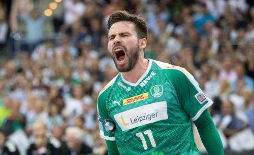Lukas Binder - SC DHfK Leipzig - Foto: Karsten Mann