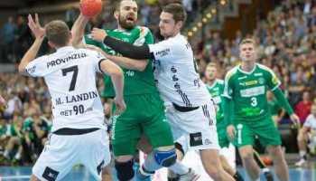 Alen Milosevic - SC DHfK Leipzig vs. THW Kiel - Foto: Karsten Mann